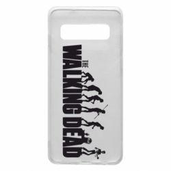 Чехол для Samsung S10 The Walking Dead Evolution