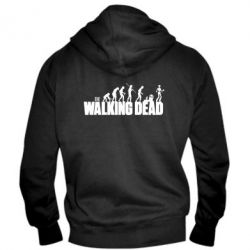 Мужская толстовка на молнии The Walking Dead Evolution