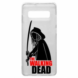 Чохол для Samsung S10+ The walking dead (Ходячі мерці)