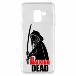 Чохол для Samsung A8 2018 The walking dead (Ходячі мерці)