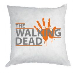 Подушка The Walking Dead logo