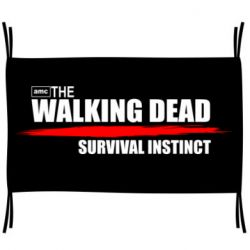Флаг The walking dead survival instinct
