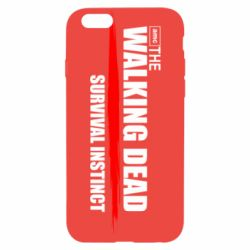 Чехол для iPhone 6/6S The walking dead survival instinct