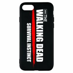 Чехол для iPhone 8 The walking dead survival instinct