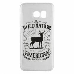 Чохол для Samsung S6 EDGE The wild nature