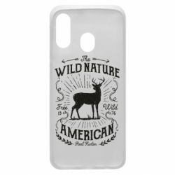 Чохол для Samsung A40 The wild nature