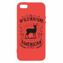 Чохол для iphone 5/5S/SE The wild nature