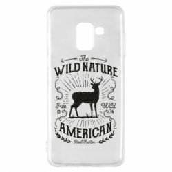 Чохол для Samsung A8 2018 The wild nature