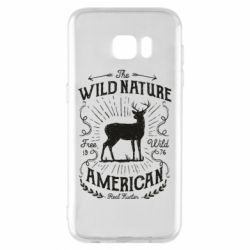 Чохол для Samsung S7 EDGE The wild nature