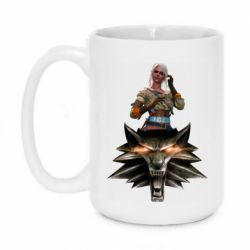 Кружка 420ml The Witcher and Cyril