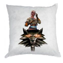 Подушка The Witcher and Cyril