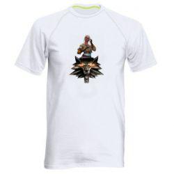 Мужская спортивная футболка The Witcher and Cyril