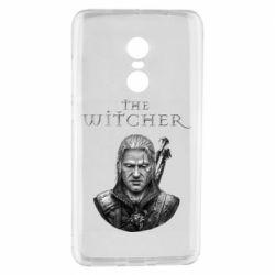 Чехол для Xiaomi Redmi Note 4 The witcher art black and gray