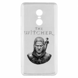 Чехол для Xiaomi Redmi Note 4x The witcher art black and gray