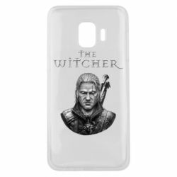 Чехол для Samsung J2 Core The witcher art black and gray