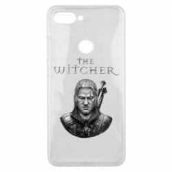 Чехол для Xiaomi Mi8 Lite The witcher art black and gray