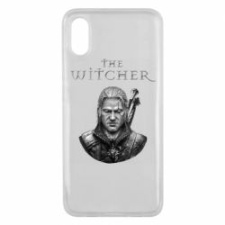 Чехол для Xiaomi Mi8 Pro The witcher art black and gray