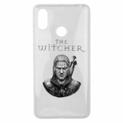 Чехол для Xiaomi Mi Max 3 The witcher art black and gray