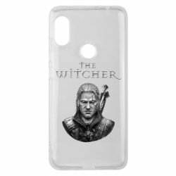 Чехол для Xiaomi Redmi Note 6 Pro The witcher art black and gray