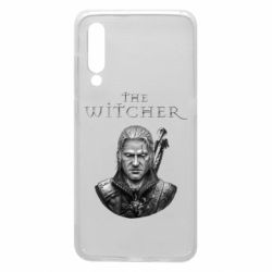 Чехол для Xiaomi Mi9 The witcher art black and gray