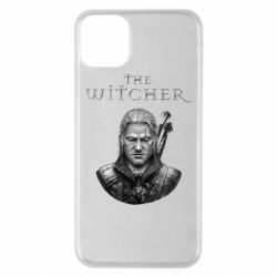 Чехол для iPhone 11 Pro Max The witcher art black and gray