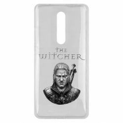 Чехол для Xiaomi Mi9T The witcher art black and gray