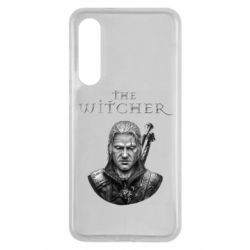 Чехол для Xiaomi Mi9 SE The witcher art black and gray