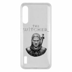 Чохол для Xiaomi Mi A3 The witcher art black and gray