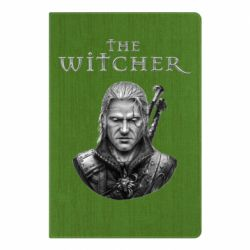 Блокнот А5 The witcher art black and gray