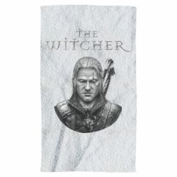 Полотенце The witcher art black and gray