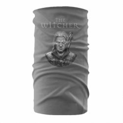 Бандана-труба The witcher art black and gray