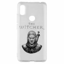 Чехол для Xiaomi Redmi S2 The witcher art black and gray