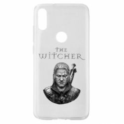 Чехол для Xiaomi Mi Play The witcher art black and gray
