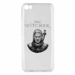 Чехол для Xiaomi Mi5/Mi5 Pro The witcher art black and gray