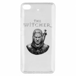 Чехол для Xiaomi Mi 5s The witcher art black and gray