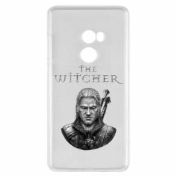 Чехол для Xiaomi Mi Mix 2 The witcher art black and gray