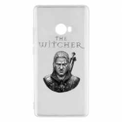 Чехол для Xiaomi Mi Note 2 The witcher art black and gray