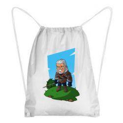 Рюкзак-мешок The witcher chibi