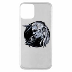 Чехол для iPhone 11 The Witcher in profile art