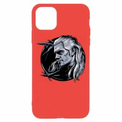 Чехол для iPhone 11 Pro The Witcher in profile art