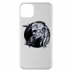 Чехол для iPhone 11 Pro Max The Witcher in profile art