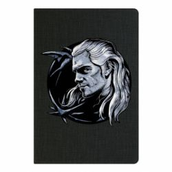 Блокнот А5 The Witcher in profile art