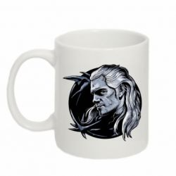 Кружка 320ml The Witcher in profile art