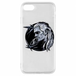 Чехол для iPhone 7 The Witcher in profile art
