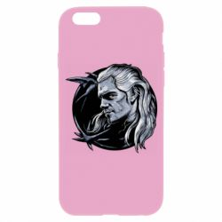Чехол для iPhone 6/6S The Witcher in profile art