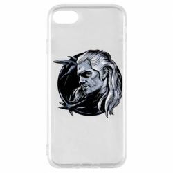 Чехол для iPhone 8 The Witcher in profile art
