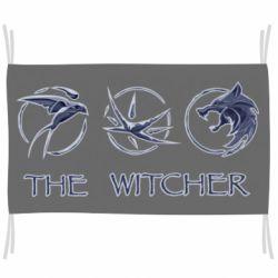 Флаг The witcher pendants