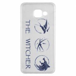 Чехол для Samsung A3 2016 The witcher pendants