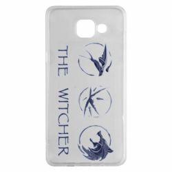 Чехол для Samsung A5 2016 The witcher pendants