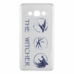 Чехол для Samsung A7 2015 The witcher pendants